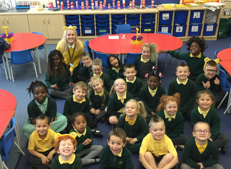 Children in Need -Messy Hair Day
