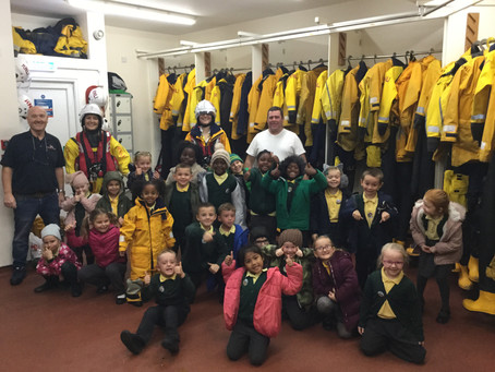 Year 1 Visit the RNLI