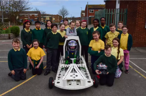 Hartlepool school pupils help build electric racing car
