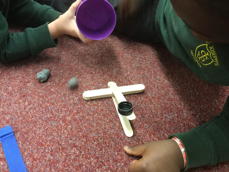 Making a Catapult (Science Club)