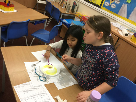 Bubble Making (Science Club)
