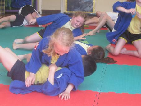 Visitors to School - Judo Experience