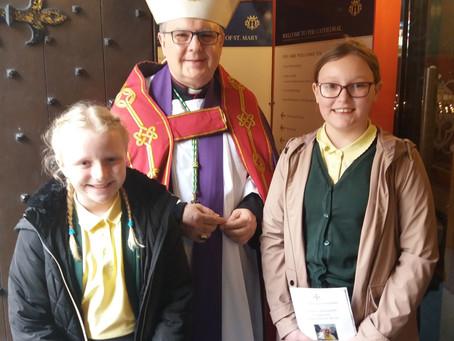Children Meet Bishop Robert