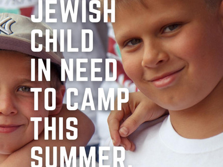 36 HOURS TO GIVE THE GIFT OF A SUMMER FOR CAMP YEKA BOYS
