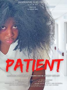 Patient Movie Poster by Joyce Licorish.p