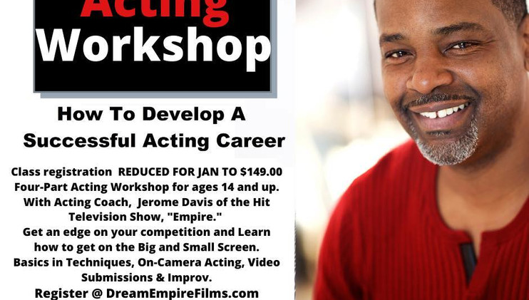 How to Develop a Succesful Acting Career