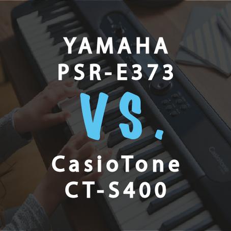 Compare: Casio CT-S400 vs Yamaha PSR-E373