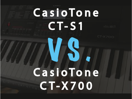 Compare: Casio CT-S1 vs Casio CT-X700. Which is more suitable for you?