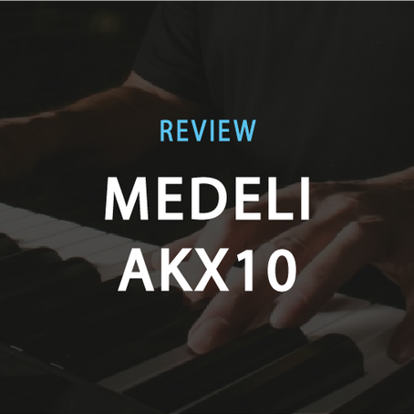 Review: Medeli AKX10. The best keyboard you can get at $699.