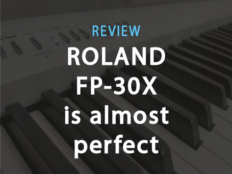 Review: Roland FP-30X. The Perfect Digital Piano... Almost
