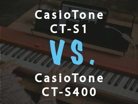 Compare: Casio CT-S1 vs Casio CT-S400