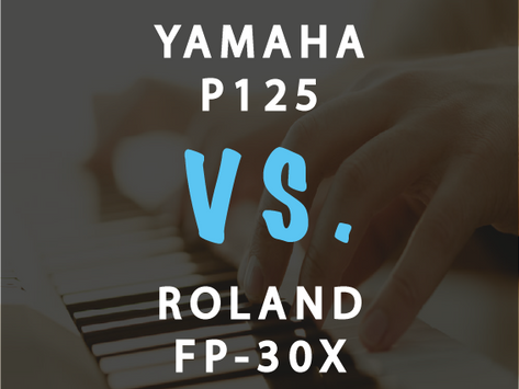 Compare: Is Roland FP-30X Better than Yamaha P-125?