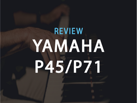Review: The Truth about Yamaha's Cheapest Digital Piano - Yamaha P45/P71