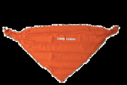 Orange Lancer Lacrosse Bandana