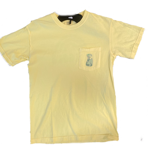 Yellow Tie Dye Shirt
