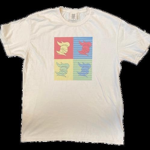 Retro Lancer Square T-Shirt