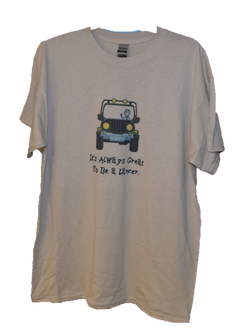 Life is Good T-Shirt- white