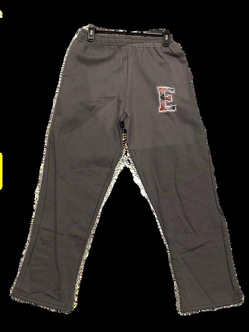 "Grey ""E"" Sweatpants"
