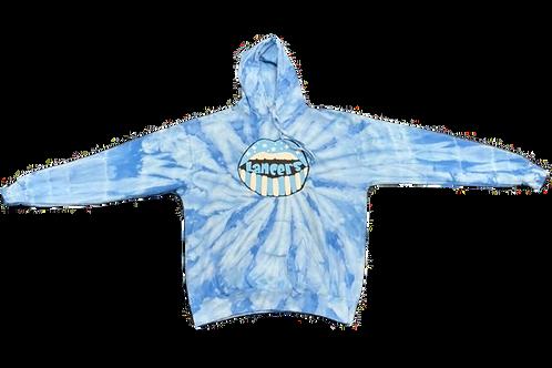 Light Blue Tie Dye Sweatshirt