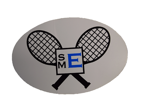 SME Tennis Sticker