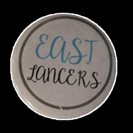 East Lancers Button