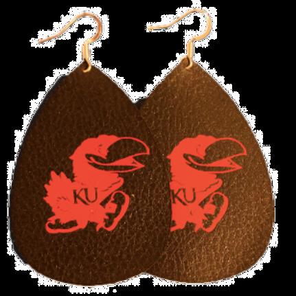 Jayhawk Earrings