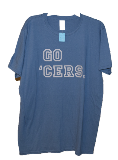 Go 'Cers T-Shirt -Blue