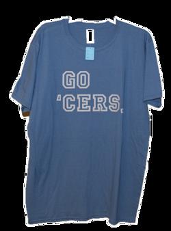 Go 'Cers T-Shirt -Blue