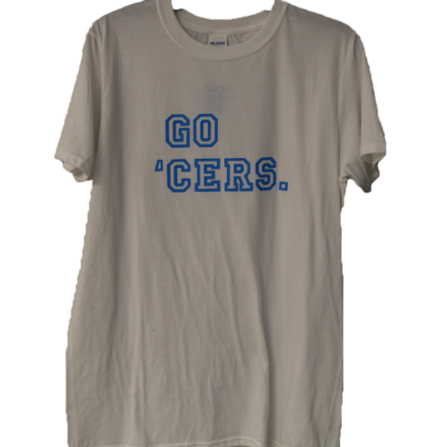 Go 'Cers T-Shirt - White