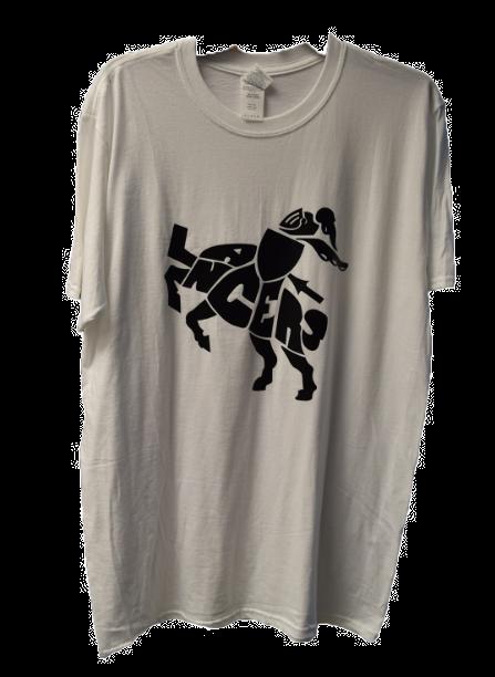 """Lancers"" Horse- white"