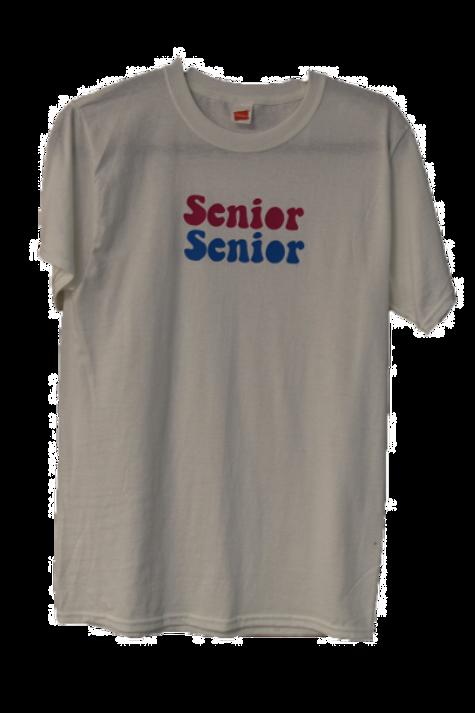 Senior Senior T-Shirt- White