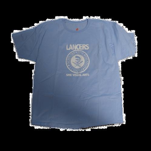 SME Visual Arts T-Shirt-blue