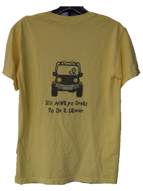 Life is Good T-Shirt- yellow