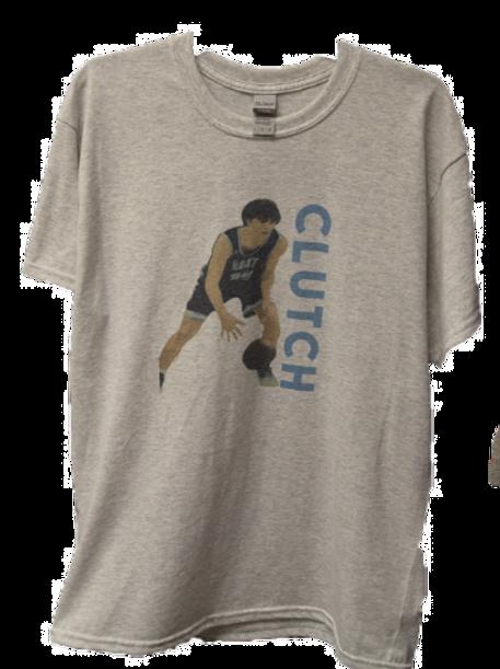 """""""Clutch"""" Grey T-Shirt"""