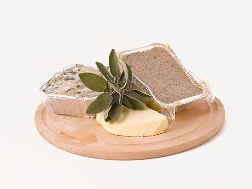 Polenta taragna - Polenta with cheese
