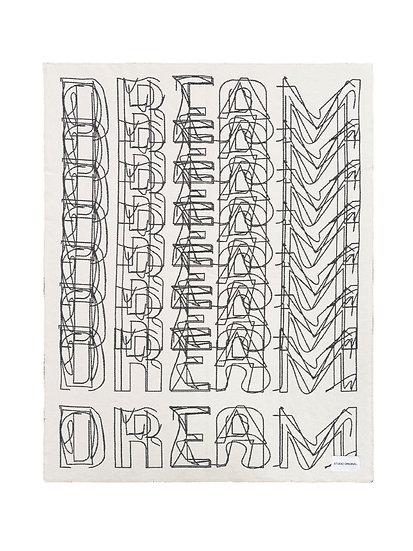 "Blanket - ""Dream"" - 180cm x 140cm - (Base price: 63 €/m²)"