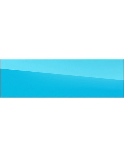 Mirror - blue - 87cm x 27cm - (Base price: 34 €/m²)