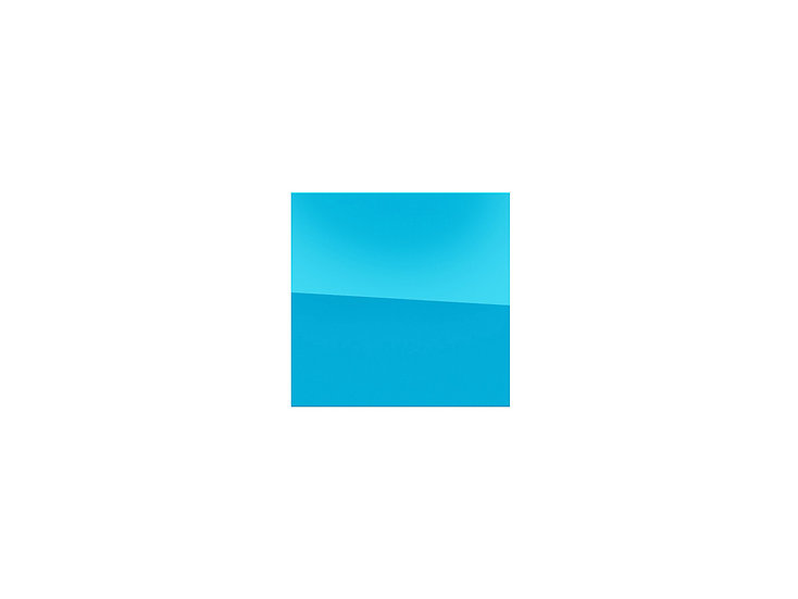 Mirror - blue - 27cm x 27cm - (Base price: 40 €/m²)