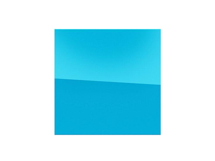 Mirror - blue - 57cm x 57cm - (Base price: 24 €/m²)