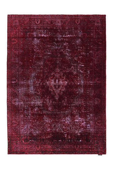 Vintage Carpet - Dark Red - 282cm x 199cm - (Base price: 303 €/m²)