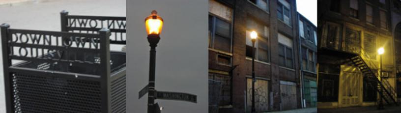 Light Projects LTD Illumination Louisville 2nd Street before images