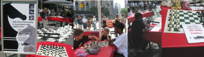 Chess NYC at Herald Square