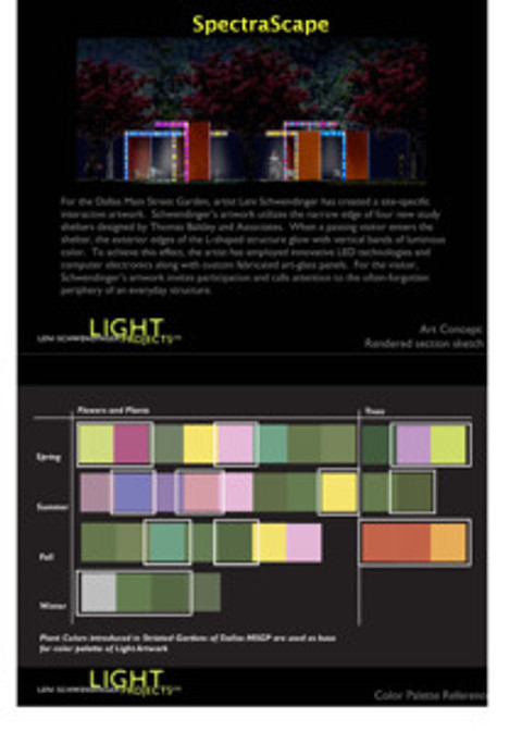 SpectraScape rendering and color palette