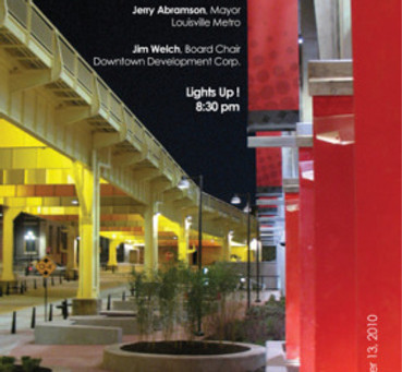 Transforming a Darkened Underpass into a Brightly Breathing Bridge and Streetscape Lighting Design