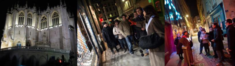 Leni Schwendinger's NightSeeing™ / Livable Cities, Lyon