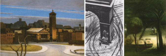 """Hopper/Kertész/Pène du Bois (""""Chess Tables"""")"""