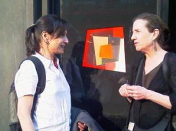 """Joan Grubin explains """"Portal"""" to Leni"""