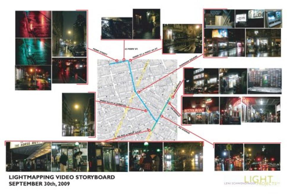 Public Lighting Video Storyboard