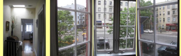 Jane's window - Photos by Leni Schwendinger