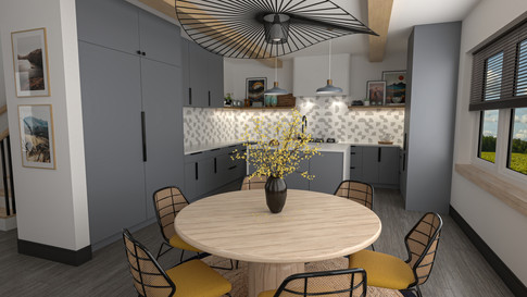 Kitchen/Dining (Gold Package)
